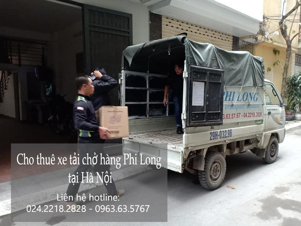 Cho thuê xe tải giá rẻ tại phố Hàng Bài 2109