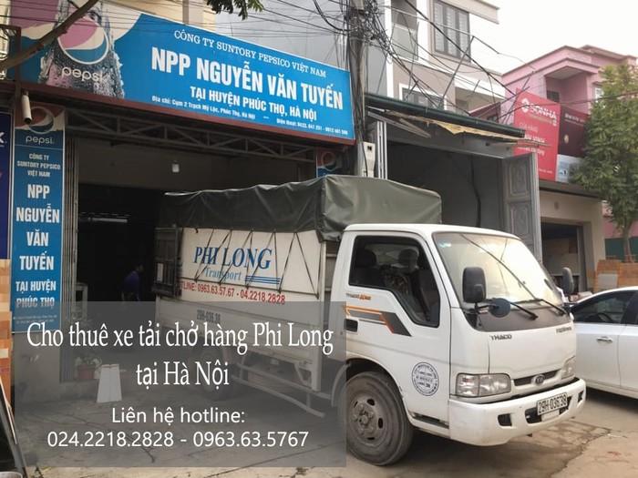 Cho thuê xe tải tại phố Ninh Hiệp