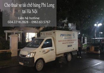 Cho thuê xe tải giá rẻ tại phố Hội Xá 2019