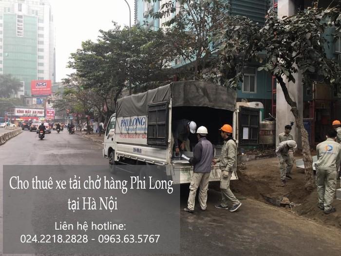Dịch vụ cho thuê xe tải tại phố Nhân Hòa