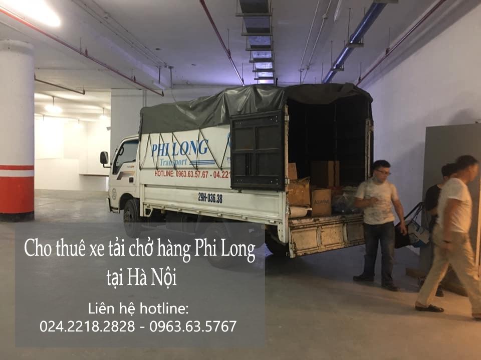 Cho thuê xe tải tại phố Hàng Mắm