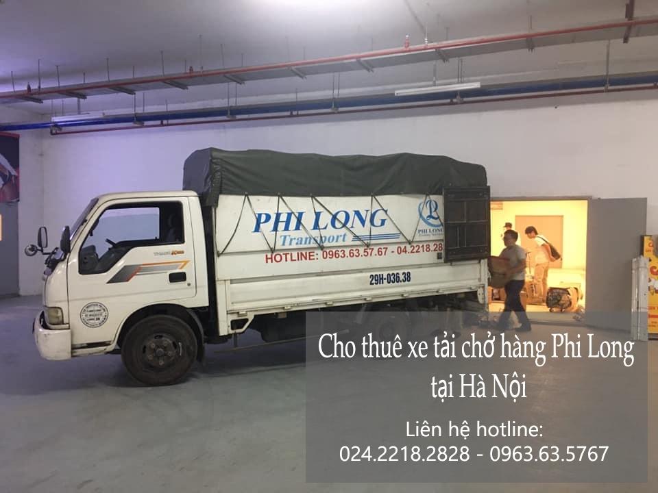 Phi Long cho thuê xe tải tại phố Trung Mầu