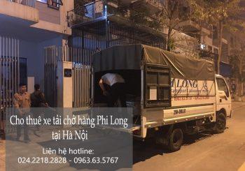 Dịch vụ cho thuê xe tải tại phố Nguyên Khiết 2019