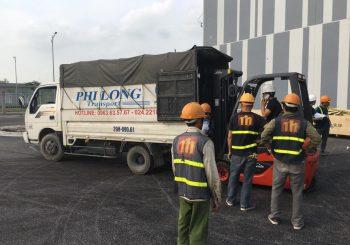 Cho thuê xe tải tại phố Quảng An
