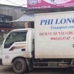 Dịch vụ cho thuê xe tải giá rẻ tại phố Phúc Xá