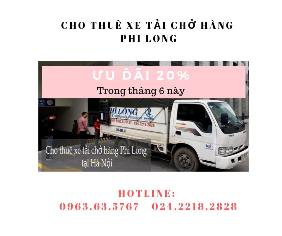 Dịch vụ cho thuê xe tải giá rẻ tại phố Cầu Am