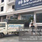 Dịch vụ cho thuê xe tải tại phố Kẻ Vẽ 2019