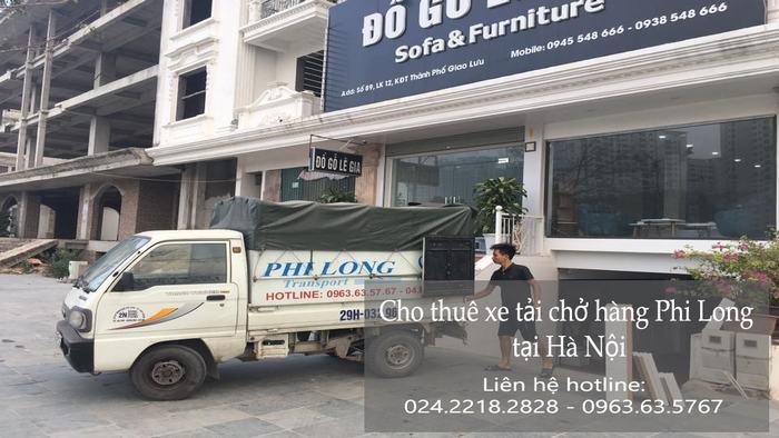 Dịch vụ cho thuê xe tải giá rẻ tại phố Kẻ Vẽ