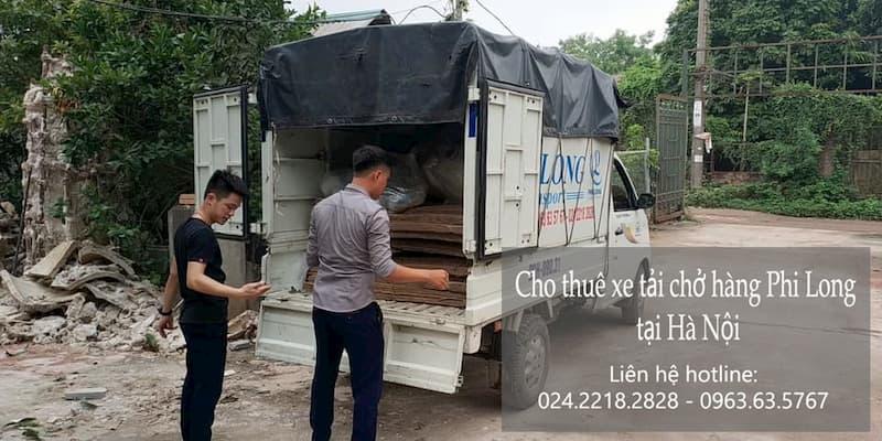 Cho thuê xe tải tại phố Thượng Thụy