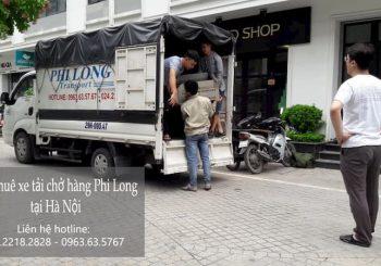 Dịch vụ xe tải Phi Long tại phố Hàng Chĩnh 2019