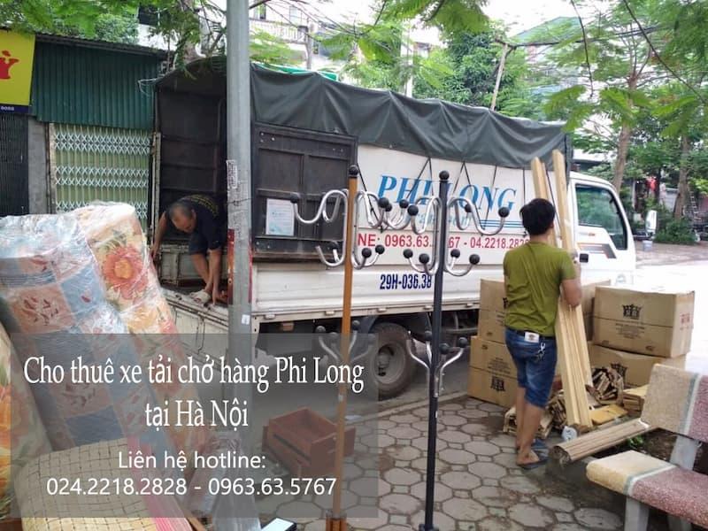 Cho thuê xe tải tại phố Hàm Tử Quan