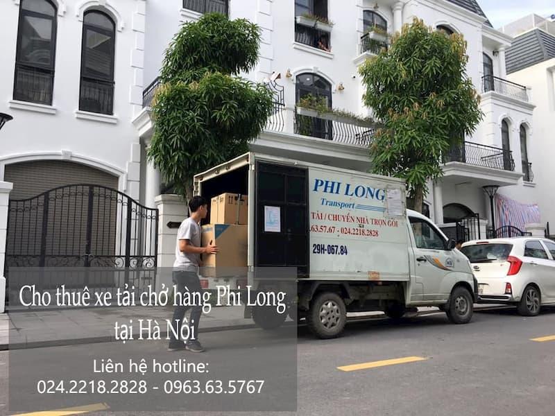 Dịch vụ cho thuê xe tải tại phố Sa Đôi