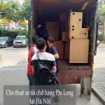 Dịch vụ cho thuê xe tải Phi Long tại phố Trịnh Đình Cửu