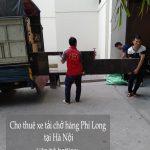 Dịch vụ cho thuê xe tải giá rẻ Phi Long tại phố Phú Kiều 2019