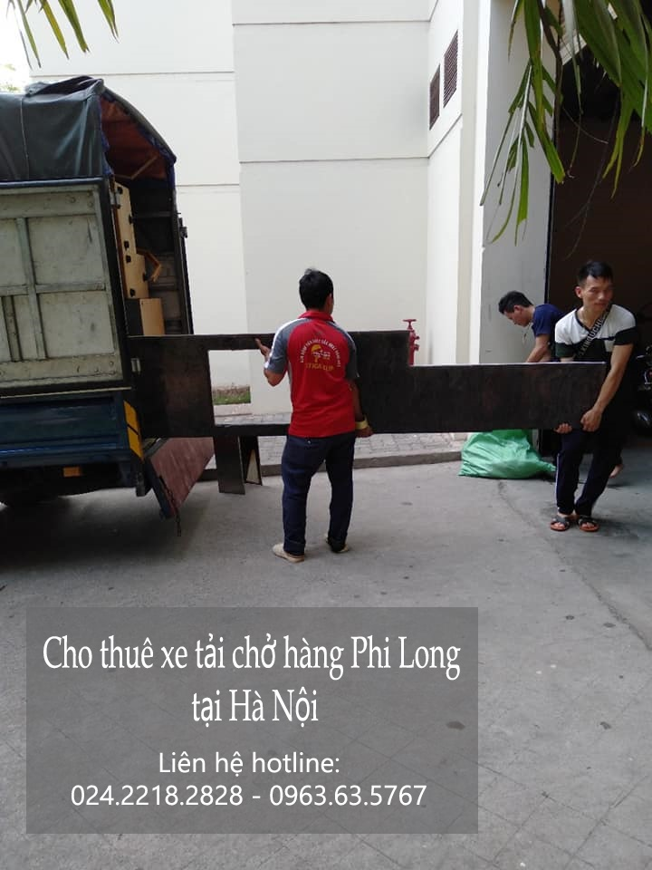 Dịch vụ cho thuê xe tải Phi Long tại phố Phú Kiều