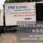 Dịch vụ cho thuê xe tải tại phố Tân Khai 2019
