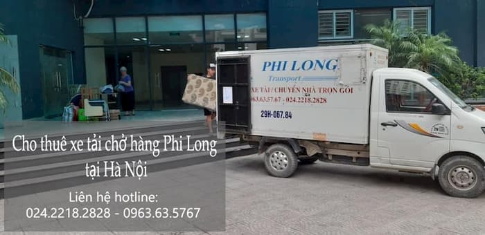 Dịch vụ cho thuê xe tải tại phố Thanh Đàm