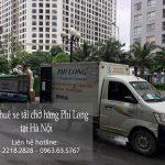 Dịch vụ chuyên nghiệp xe tải Phi Long tại phố Đặng Thùy Trâm
