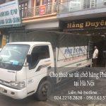 Dịch vụ taxi tải giá rẻ Phi Long tại phố An Dương Vương