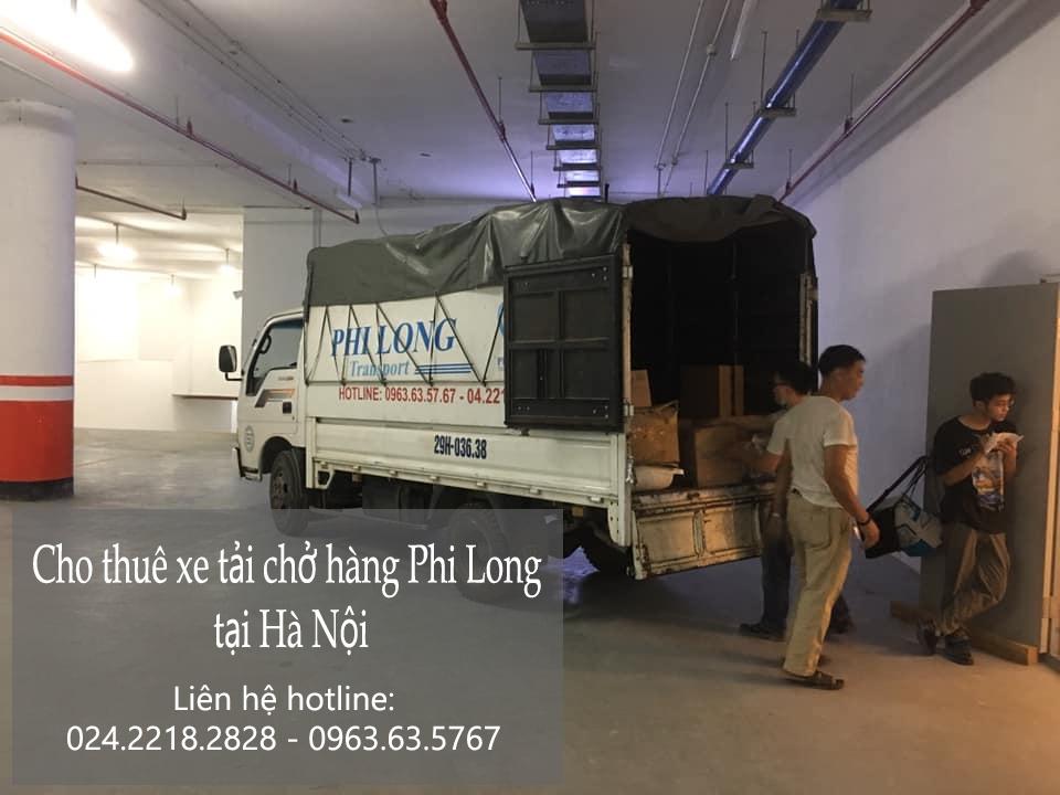Dịch vụ cho thuê xe tải giá rẻ Phi Long tại phố Huỳnh Văn Nghệ