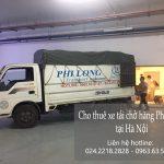 Dịch vụ giá rẻ xe tải Phi Long  tại phố Châu Văn Liêm