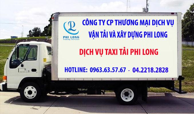 Dịch vụ thuê taxi tải uy tín Phi Long tại phố Đỗ Đức Dục