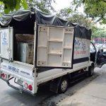 Dịch vụ xe tải Phi Long tại phố Hoàng Tăng Bí