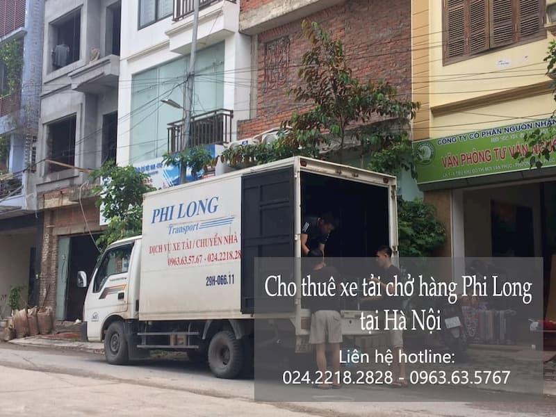 Dịch vụ cho thuê taxi tải chuyên nghiệp Phi Long tại phố Đông Ngạc