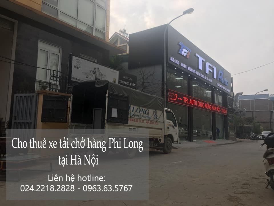 Dịch vụ cho thuê taxi tải Phi Long tại phố Dương Đình Nghệ