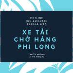 Dịch vụ cho thuê xe tải Phi Long tại phố Kim Giang