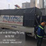 Dịch vụ taxi tải Phi Long tại phố Đông Mỹ