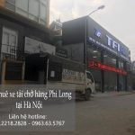 Hãng cho thuê taxi tải Phi Long tại phố Đản Dị