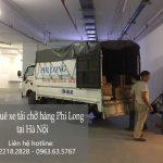 Dịch vụ xe tải giá rẻ Phi Long phố Chu Văn An