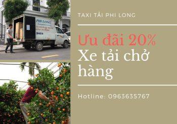 Dịch vụ vận chuyển hàng Tết Phi Long tại xã Vân Hà giảm giá 20%