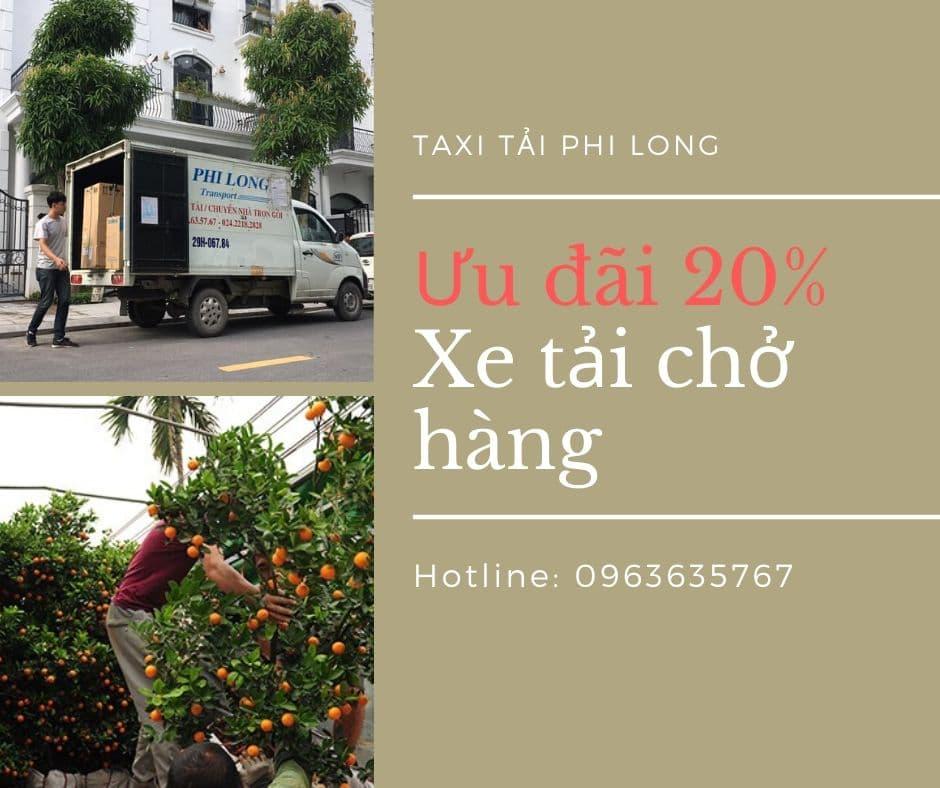 Dịch vụ vận chuyển hàng Tết tại xã Vân Hà