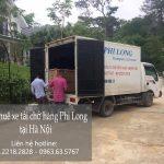 Taxi tải chở hàng Phi Long đường Bạch Đằng