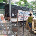 Phi Long xe tải chở hàng phố Thể Giao