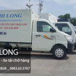 Dịch vụ cho thuê xe tải Phi Long tại xã Minh Khai