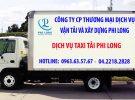 Vận chuyển chuyên nghiệp Phi Long phố Trần Khánh Dư