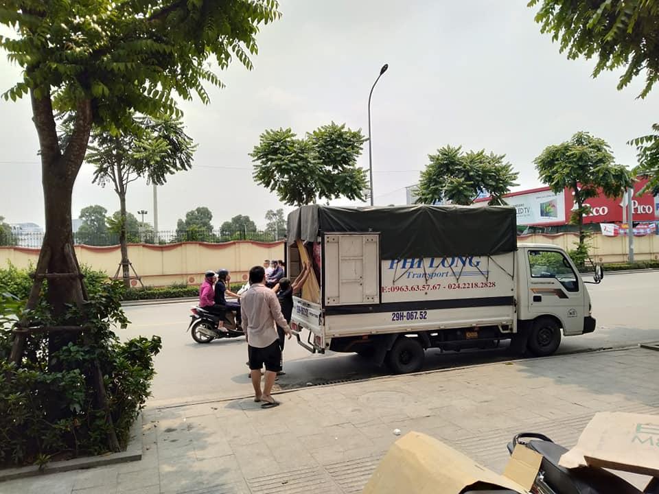 Cho thuê xe tải chất lượng Phi Long phố Khương Hạ