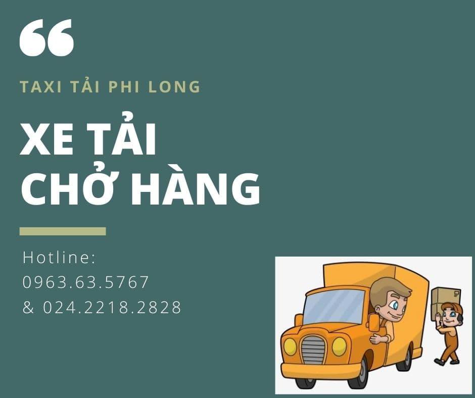 Dịch vụ cho thuê xe tải Phi Long tại xã Đại Thắng
