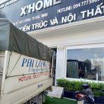 Hãng chở hàng thuê chất lượng Phi Long phố Quang Trung