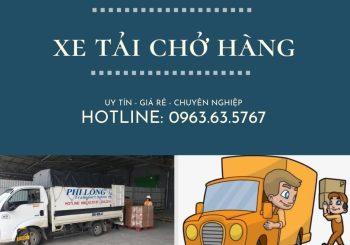 Dịch vụ cho thuê xe tải giá rẻ Phi Long tại xã Quang Trung