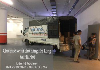 Dịch vụ cho thuê xe tải tại phường long biên