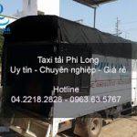 Dịch vụ cho thuê xe tải Phi Long tại đường Trần Văn Cẩn