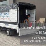 Dịch vụ cho thuê xe tải Phi Long tại phố Đồng Lân