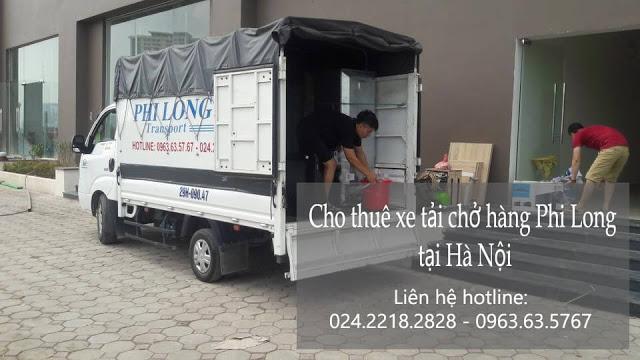 Dịch vụ cho thuê xe tải Phi Long tại đường thái hà