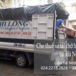 Dịch vụ cho thuê xe tải Phi Long tại phố Pháo Đài Láng