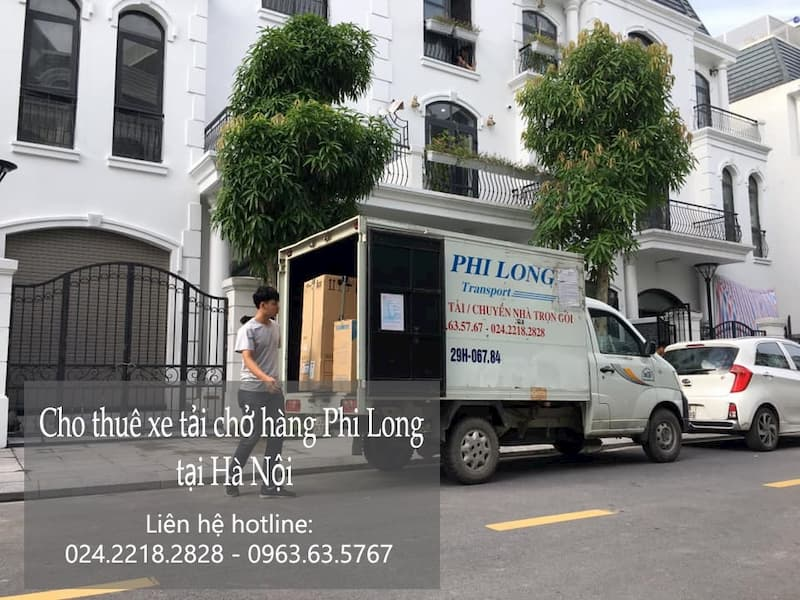 Dịch vụ cho thuê xe tải Phi Long tại đường cổ linh