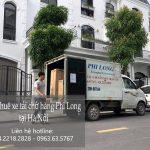 Dịch vụ cho thuê xe tải Phi Long tại đường bắc cầu